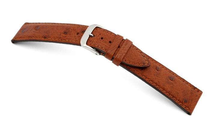 Řemínek k hodinkám RIOS Maison - mahagonová (05) 16 mm