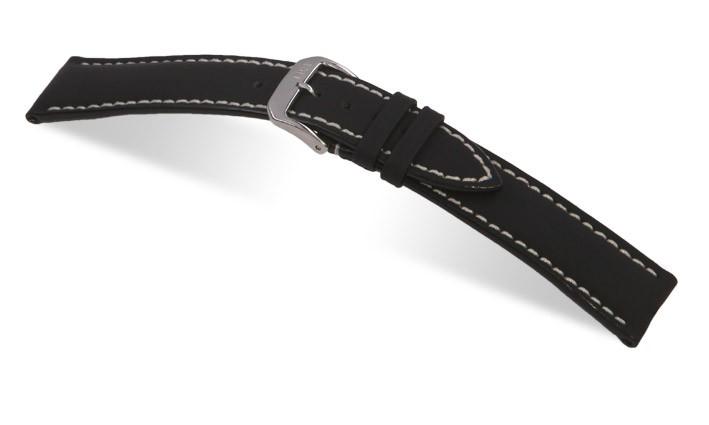 Řemínek k hodinkám RIOS Polo - černá (13) 18 mm