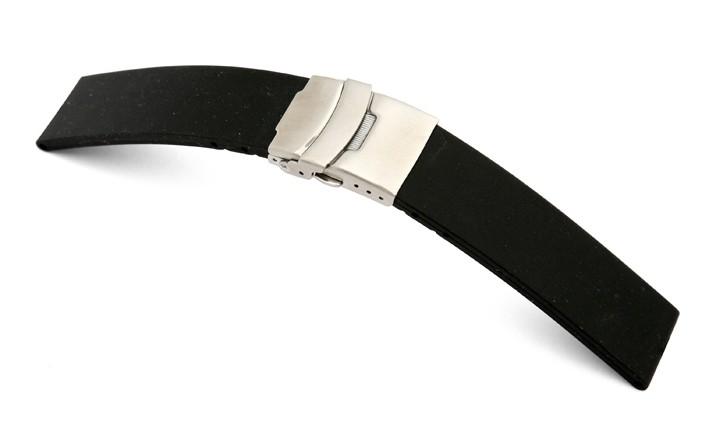 Řemínek k hodinkám RIOS Richmond - černá (13) 18 mm