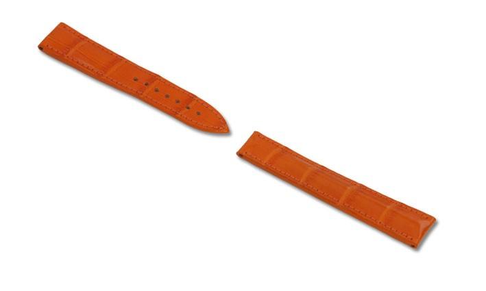 Řemínek k hodinkám Omega RIOS Master - tmavě hnědá (07) 22mm