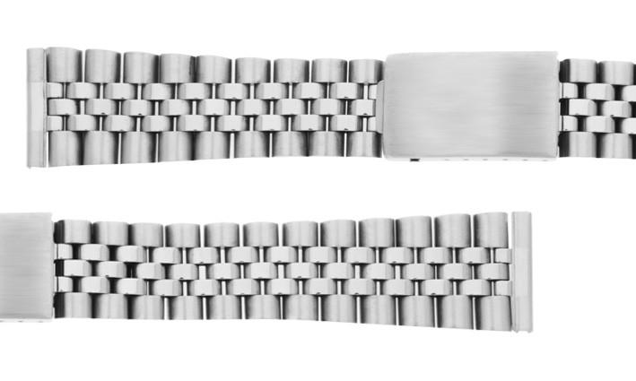 Ocelový tah JUBILEÉ k hodinkám - šíře 18 mm