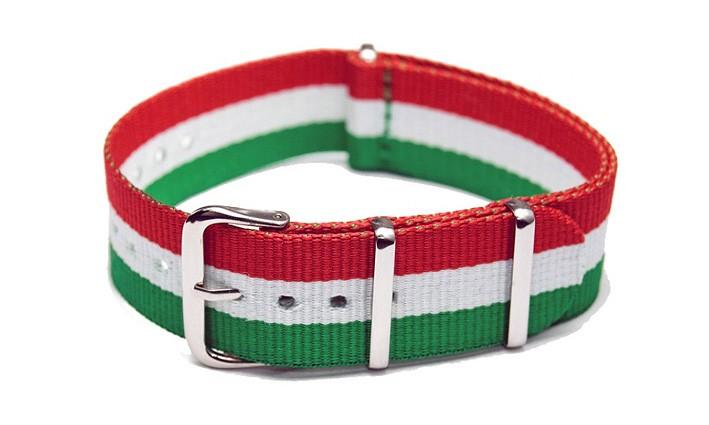 Řemínek k hodinkám NATO Strap - Italy - šíře 18 mm