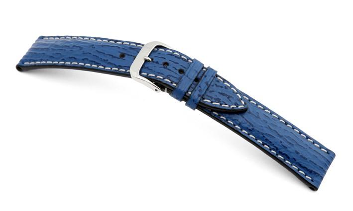 Řemínek k hodinkám RIOS Wave - světle modrá (23) 18 mm