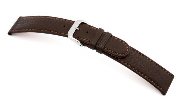 Řemínek k hodinkám RIOS Texas - černá (13) 14 mm dámský