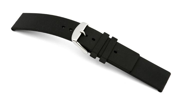 Řemínek k hodinkám RIOS Atlanta - černá (13) 20 mm