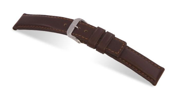 Řemínek k hodinkám RIOS Diver - mahagonová (05) 18 mm
