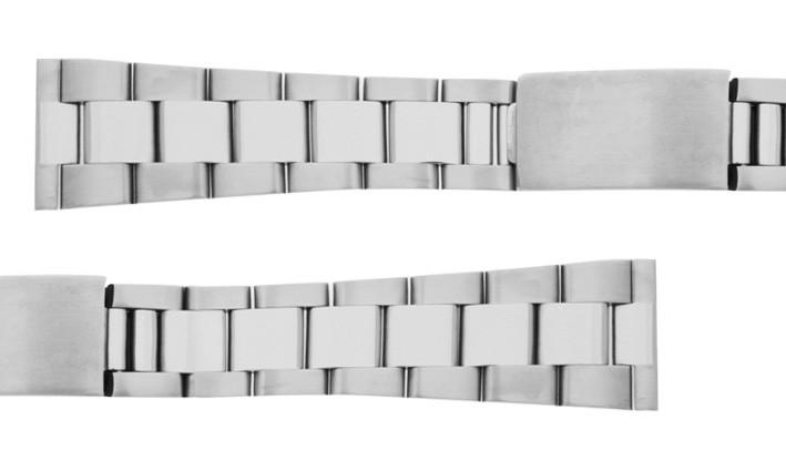 Ocelový tah OYSTER k hodinkám - šíře 18 mm