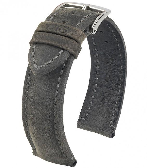 Řemínek k hodinkám HIRSCH Heritage - zlatohnědá (70) 20 mm pánský
