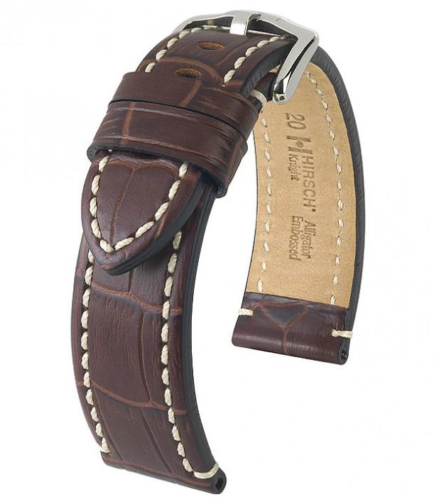 Řemínek k hodinkám HIRSCH Knight XL - černá (50) 20 mm