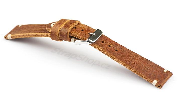 Řemínek k hodinkám Campagnolo Trendo - hnědá (03) 20 mm