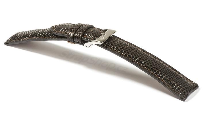 Řemínek k hodinkám Campagnolo Lucerta - hnědá (03) 16 mm