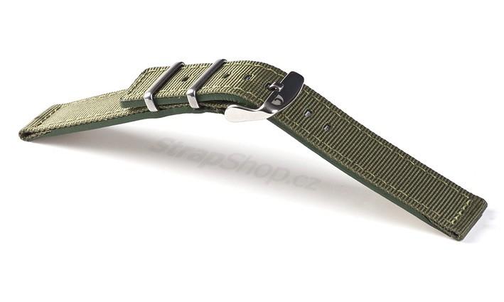 Řemínek k hodinkám Campagnolo Miggy - černá (01) 22 mm