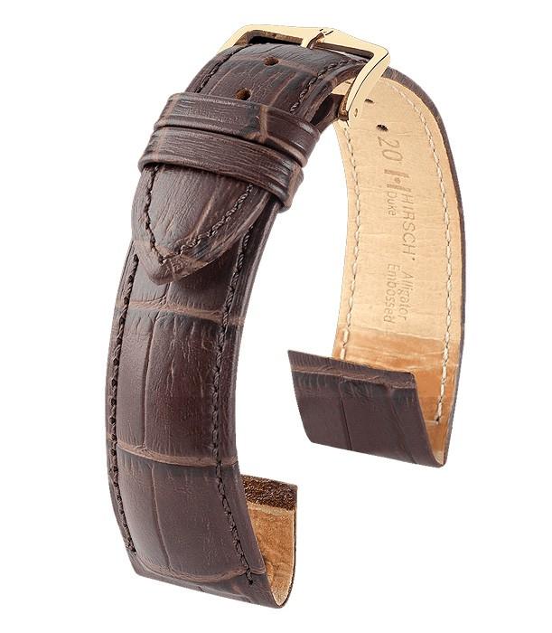 Řemínek k hodinkám HIRSCH Duke OE - hnědá (10) 16 mm pánský