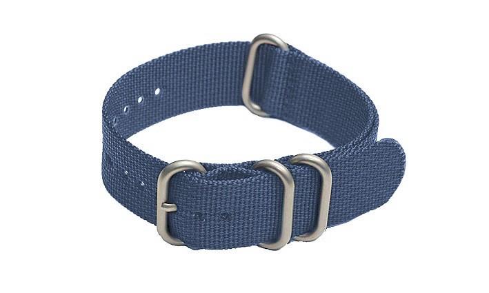 Řemínek k hodinkám ZULU Strap - modrá - šíře 20 mm