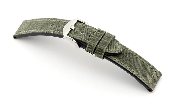 Řemínek k hodinkám RIOS Virginia - černá (13) 20 mm